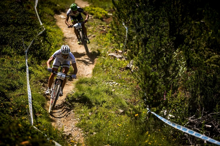 At UCI MTB World Cup,