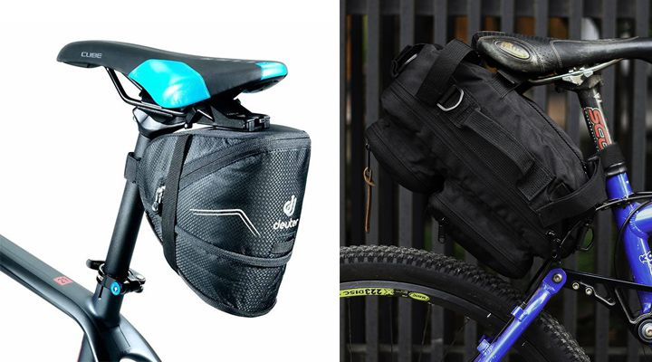 сумки под седло велосипеда