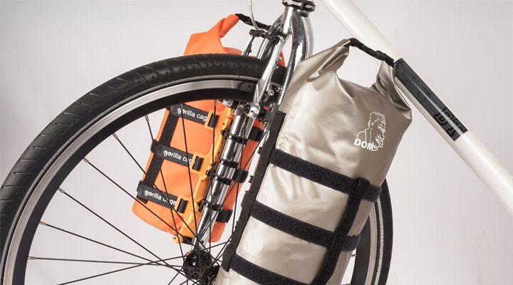 сумка на вилку велосипеда