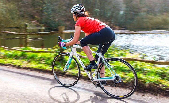 Шоссейный женский велосипед