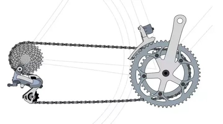трансмиссия велодика картинка